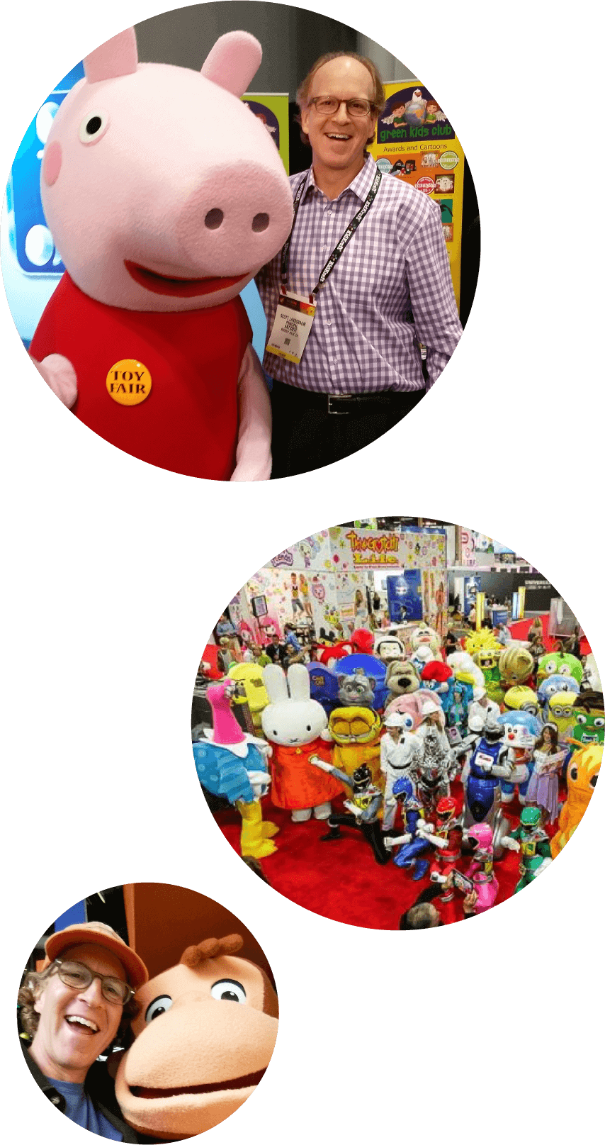 Scott at Toy Fair